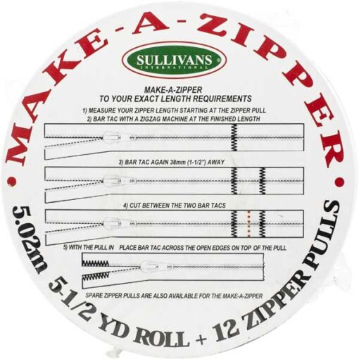 Sullivans USA Make-A-Zipper Regular