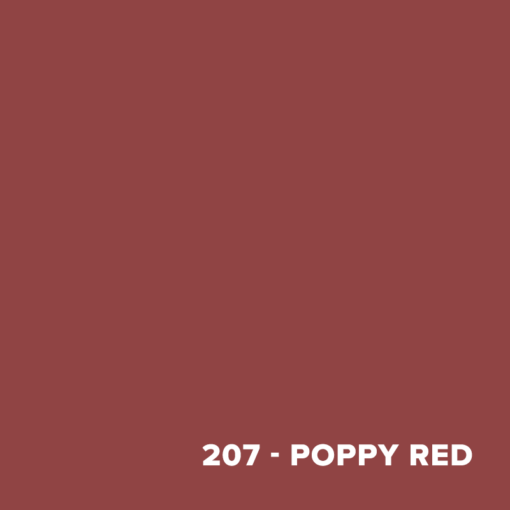Color Swatch - 207 Poppy Red